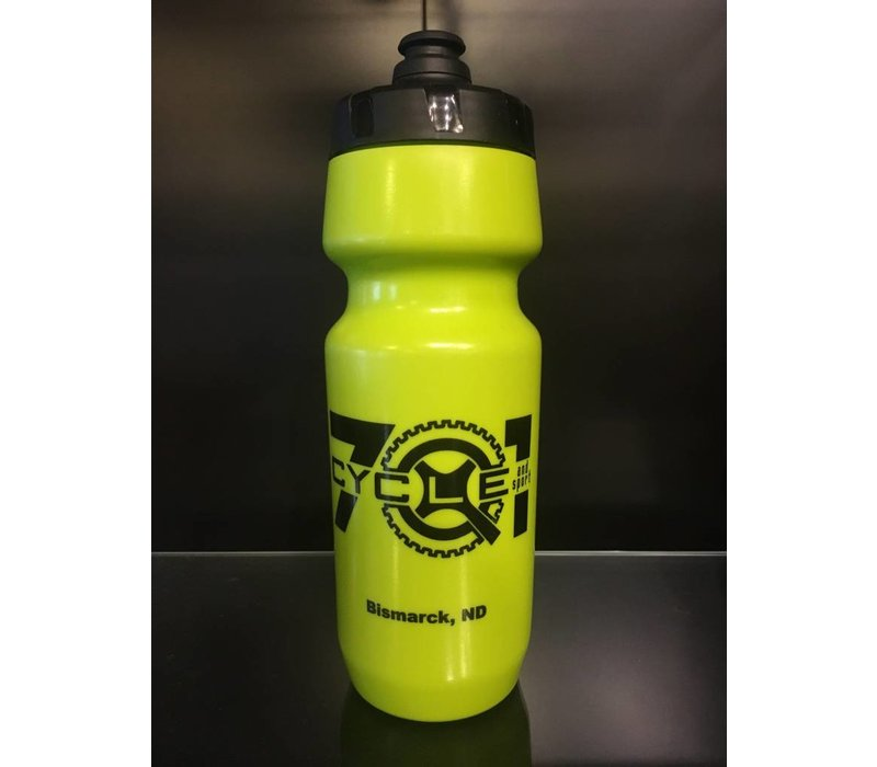 701 Cycle/Epic Grn/ Blk 24oz Water Bottle