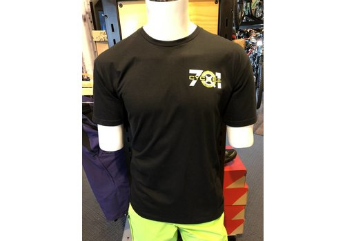 Next Level Apparel 701 Cycle and Sport Logo Shop T-Shirt Black