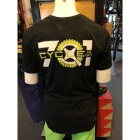 701 Cycle and Sport Logo Shop T-Shirt Black
