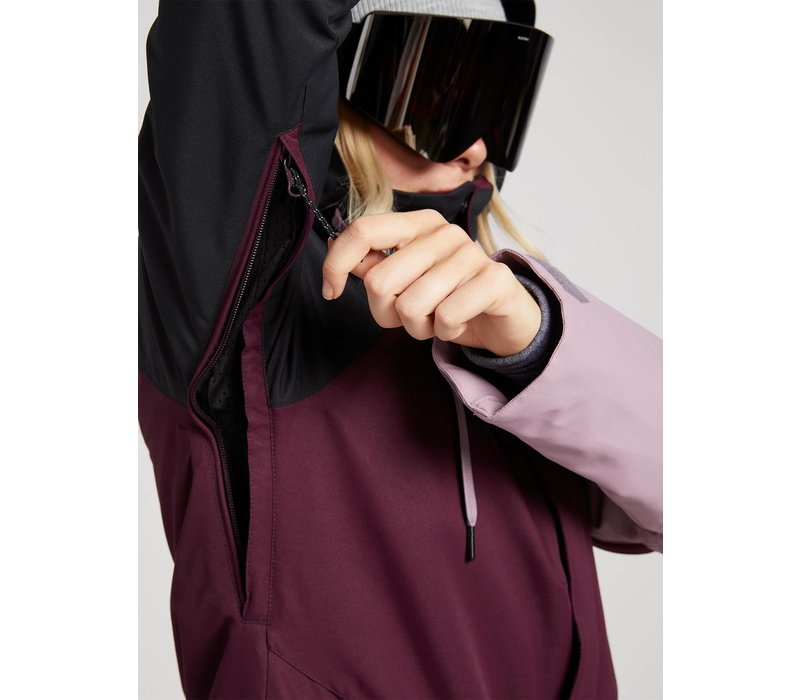 Volcom Women's Westland Insulated Jacket - Merlot