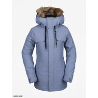 Volcom Women's Shadow Insulated Jacket -Washed Blue