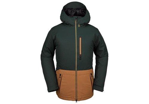 Volcom Volcom Men's Deadly Stones Insulated Jacket - Dark Green
