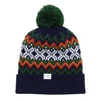 COAL - The Winters Nordic Sweater Pom Beanie