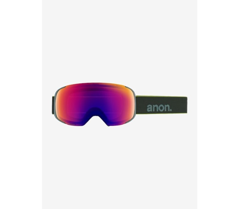 Anon Men's M2 Goggle + Spare Lens + MFI