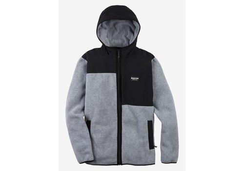 Burton Burton Men's Hearth Full-Zip Hooded Fleece