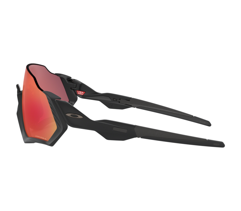 Oakley Flight Jacket™ Matte Black w/Prizm™ Trail Torch