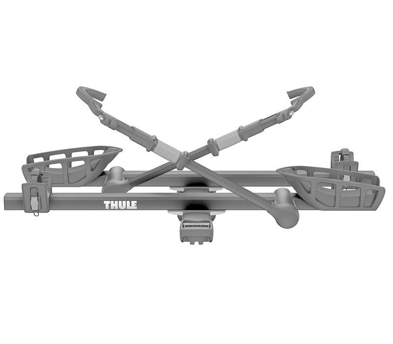 "Thule 9034XTB T2 PRO XT Hitch Mount 2 Bike Carrier 2"" Hitch - Black"