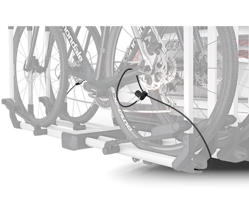 "Thule Helium Platform 2-Bike, 1-1/4"", 2"" Receiver, Silver"
