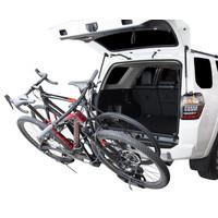 "Saris Freedom EX Hitch Bike Rack - 2-Bike, 1-1/4"", 2"" Receiver, Black"