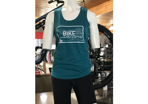 Headwaters Studio 701 Cycle and Sport ND Outline Ladies Tank