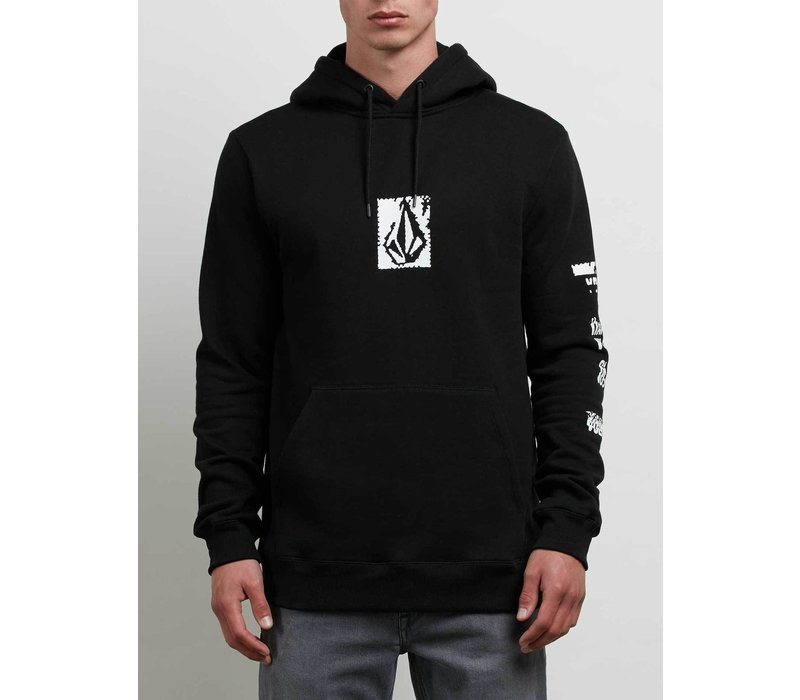 Volcom Supply Stone Pullover Hoodie - M Black