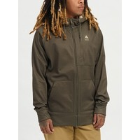 Burton Men's Crown Bonded Full-Zip Hoodie