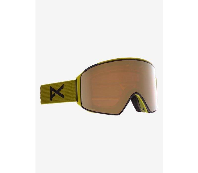 Anon M4 Goggle Cylindrical + Bonus Lens + MFI® Face Mask