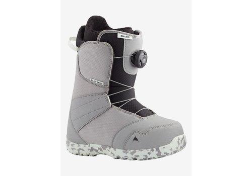 Burton Burton Kids' Zipline Boa Snowboard Boot GRAY/NEO-MINT 4K