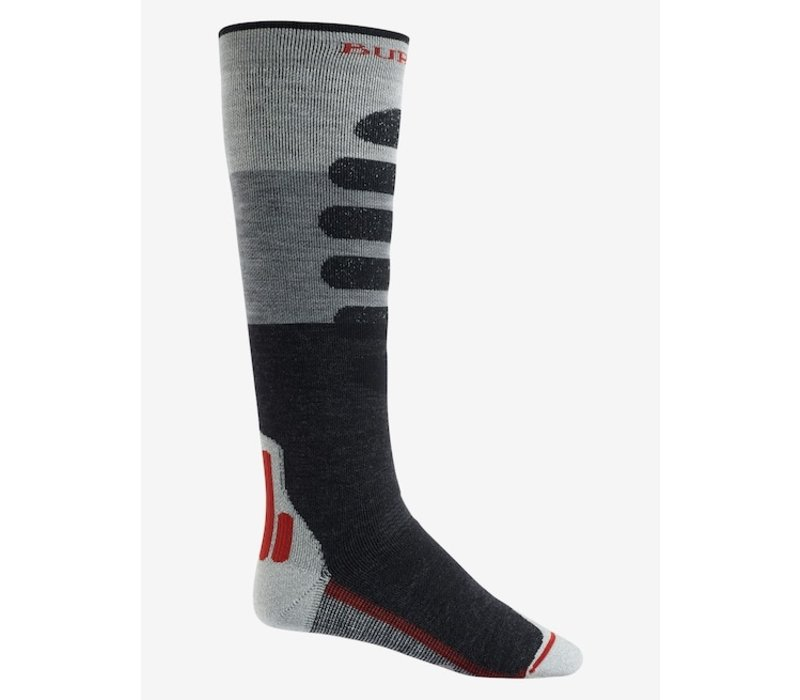 Burton Men's Performance + Midweight Sock Gray Heather - M