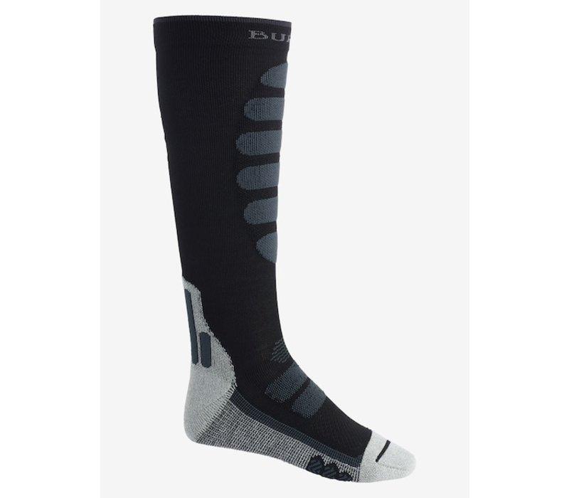 Burton Men's Performance + Lightweight Compression Sock True Black - L