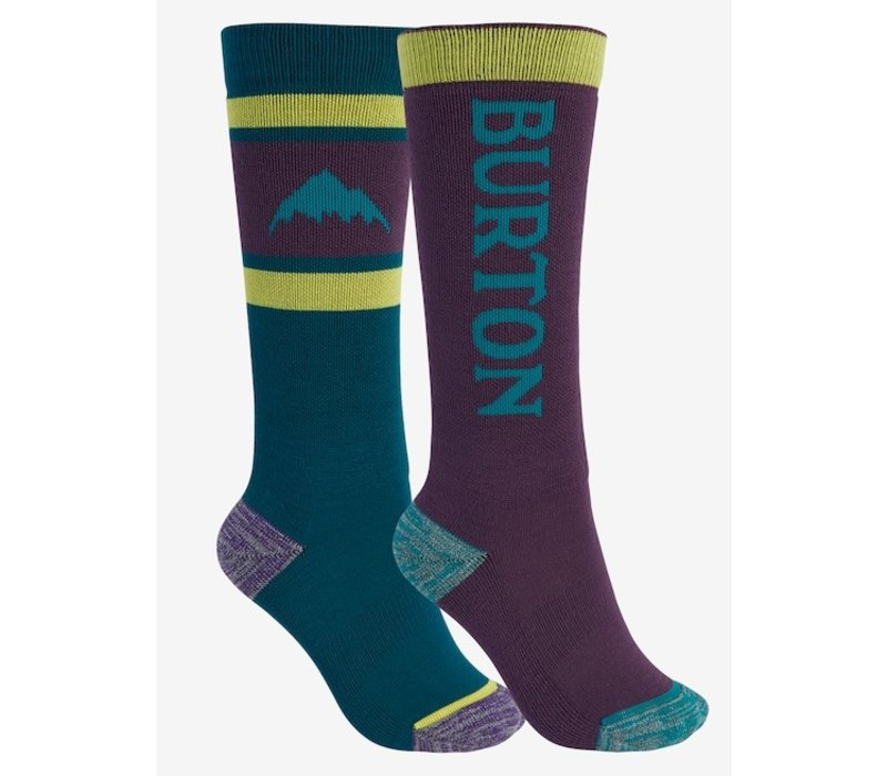 Burton Kids' Weekend Midweight Sock 2-Pack