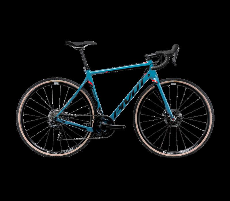 Used: Pivot Vault V4 Pro GRX SST w/Carbon Wheel Upgrade - Blue L