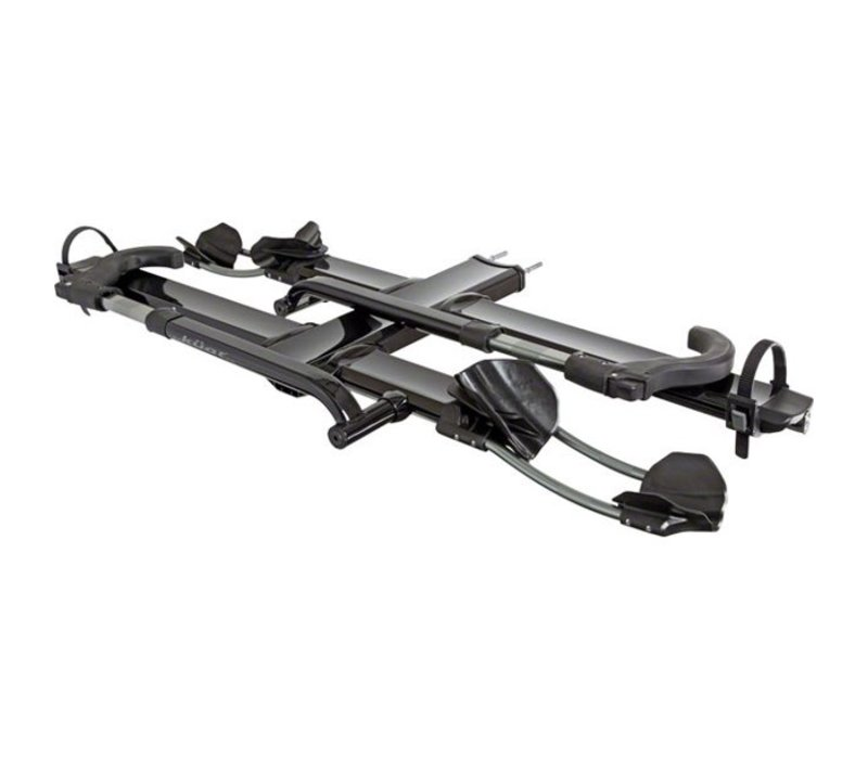 Kuat NV 2.0 +2-Bike Tray Add-on Rack Metallic Black & Chrome