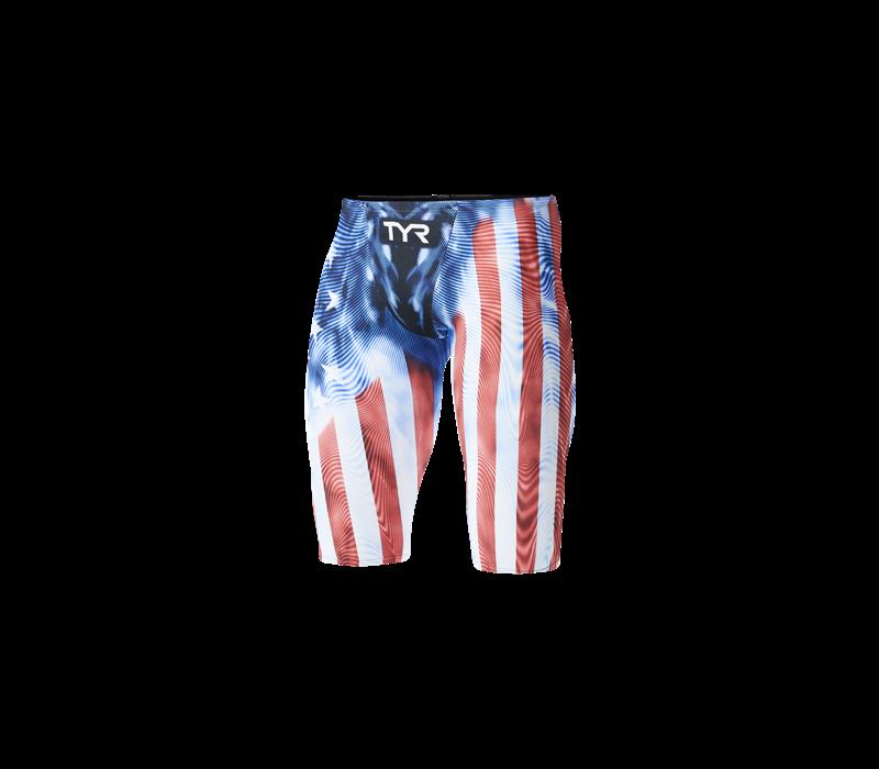 TYR Men's Venzo Genesis USA Jammer Swimsuit