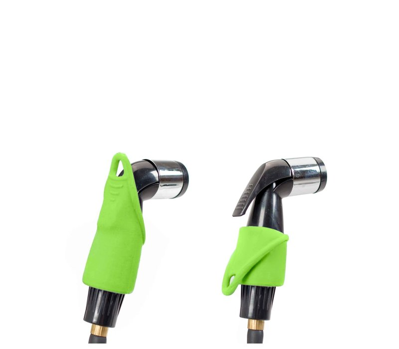 Nemo Equipment, Inc. Helio™ LX Pressure Shower - Black/Apple Green