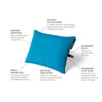 Nemo Equipment Fillo Elite Camp Pillow - Blue Flame