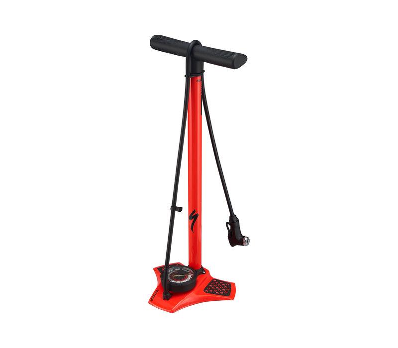 Air Tool Comp Floor Pump - Rocket Red