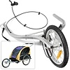"Burley Burley Jogger Kit for d'lite, Encore, Ladybug, and LE Tiger d'lite Trailers (Includes hand brake, extension arms and 16"" wheel)"