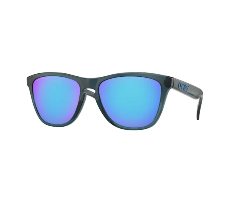 Oakley FROGSKINS™ Crystal Black w/ PRIZM Sapphire Polarized Lens