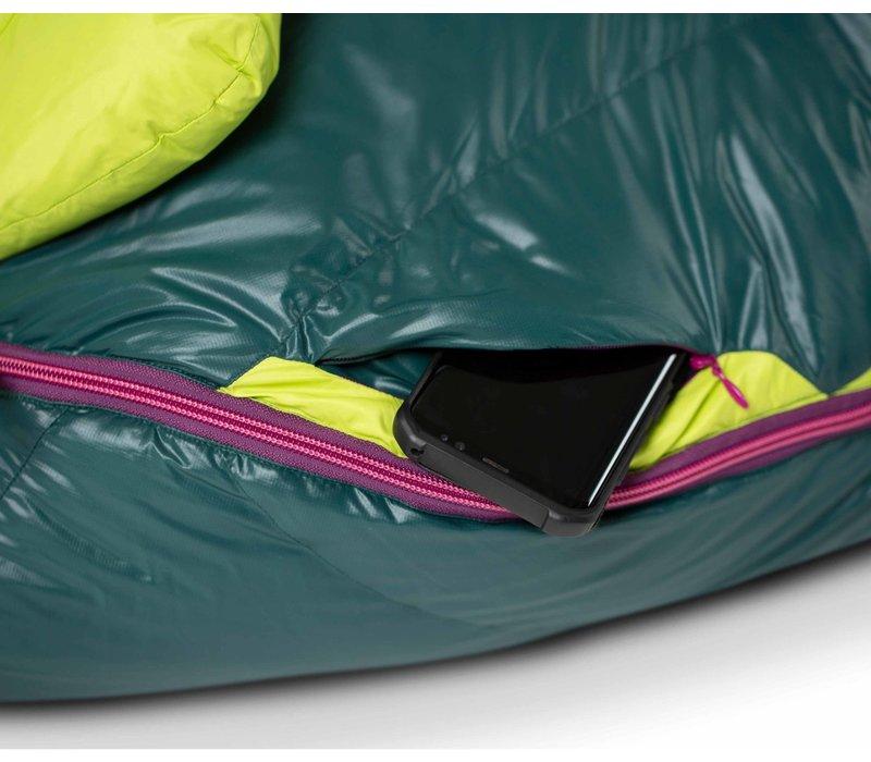 Nemo Disco™ Women's 15 Degree Regular Sleeping Bag-Electra/Starlit Ridge