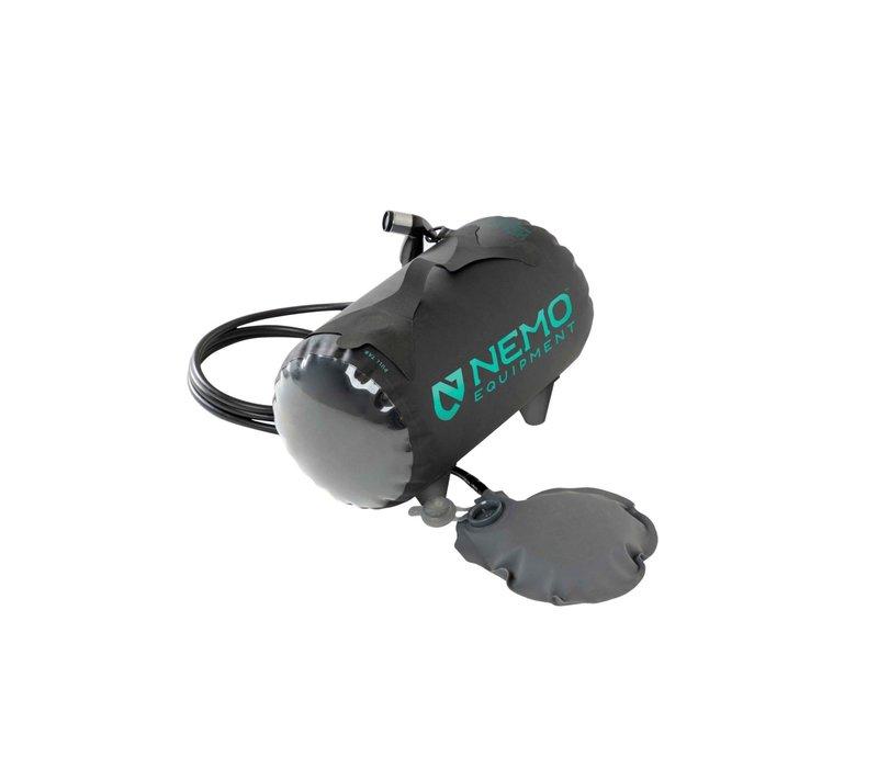 Nemo Helio Pressure Shower - Dark Verglas