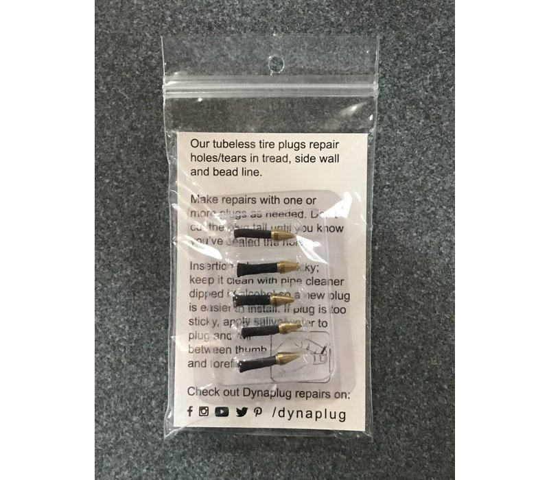Dynaplug 5-Tubeless tire repair plugs