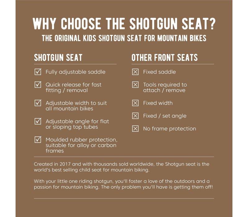 Shotgun, MTB Seat for Child, On Frame