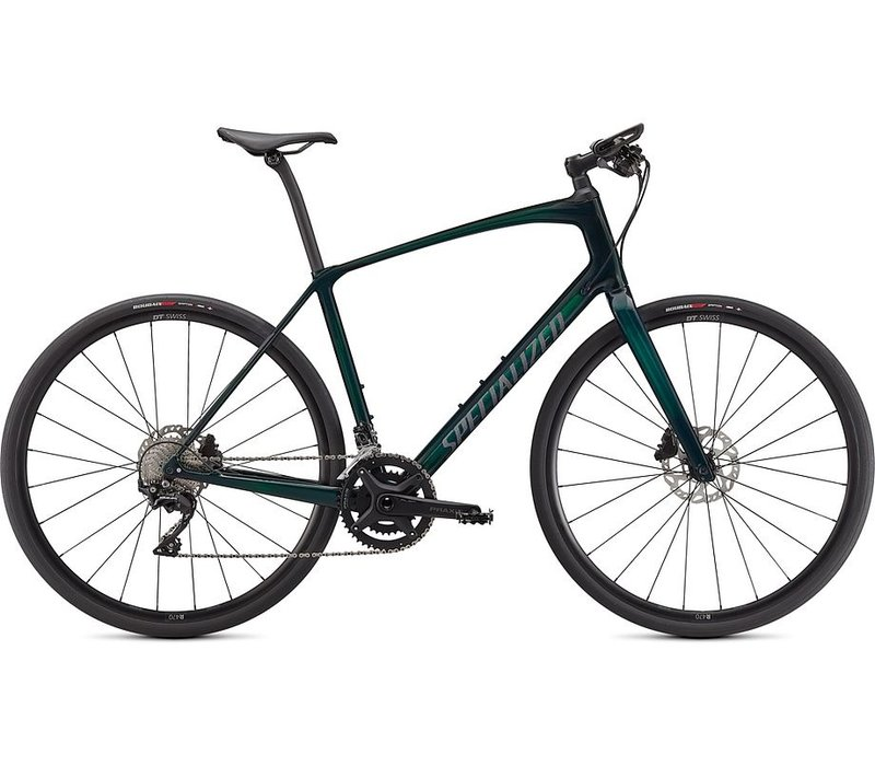 2021 Specialized Sirrus 6.0 - Gloss Green Tint/Satin Black Reflective - M