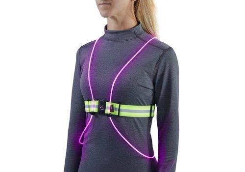 NOXGear, LLC NOXGEAR Tracer 360 Running Vest Lighted - M/L