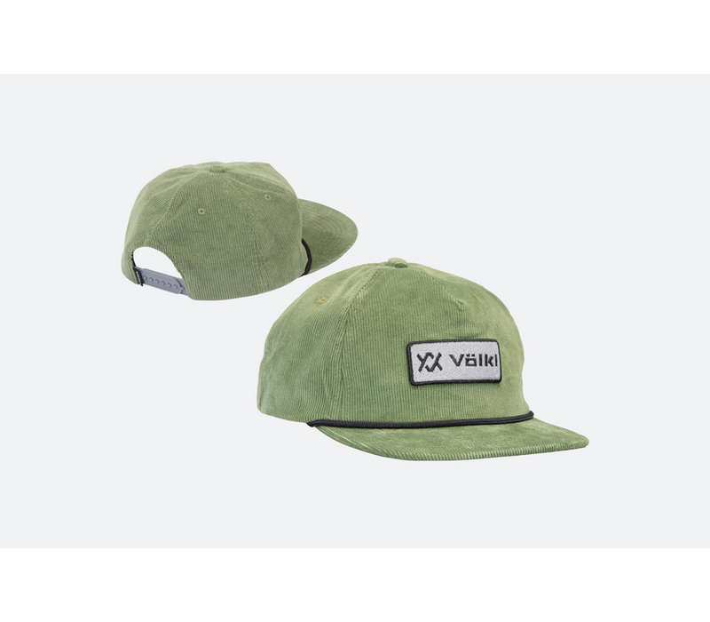 Volkl Corduroy Hat - Light Olive - Adj.