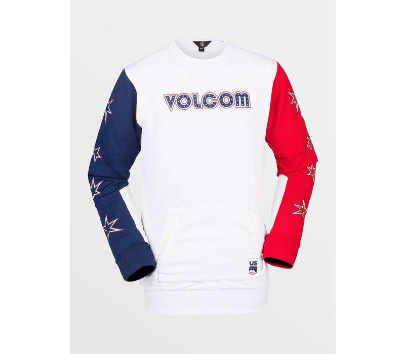 Volcom Men's Let It Snow Crew Fleece