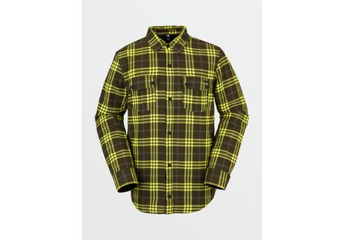 Volcom Volcom Men's Sherpa Flannel Jacket
