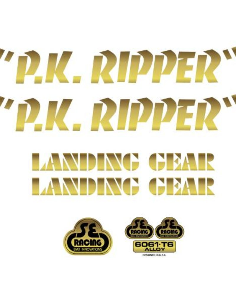 SE PK Ripper Decal Set