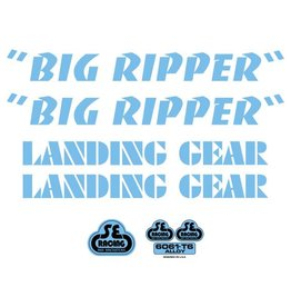 Big Ripper Decal Set