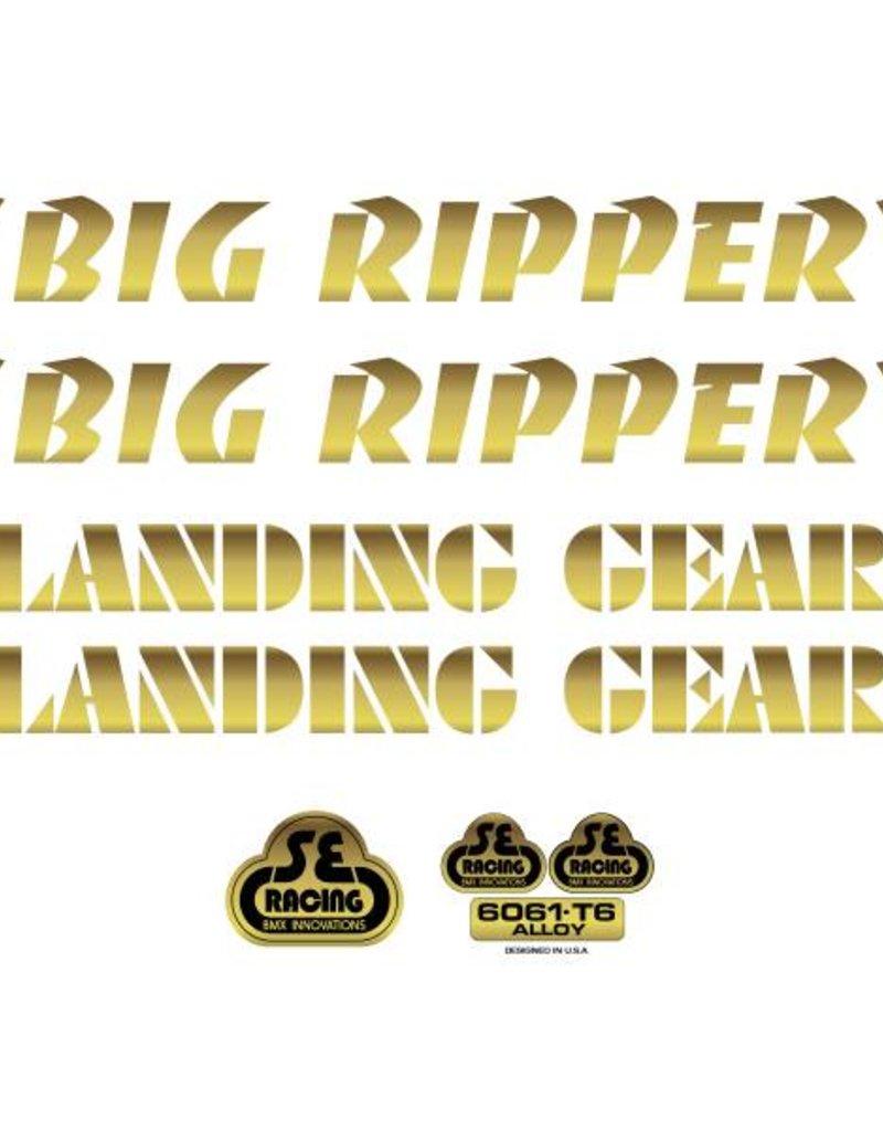 SE Big Ripper Decal Set