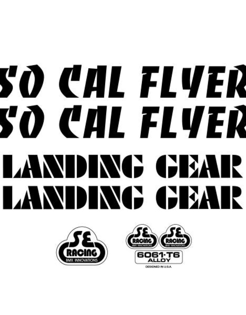 SE So Cal Flyer Decal Set