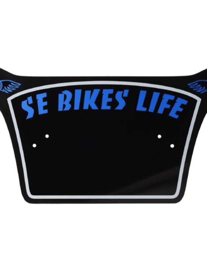 SE Bikes Life Number Plate