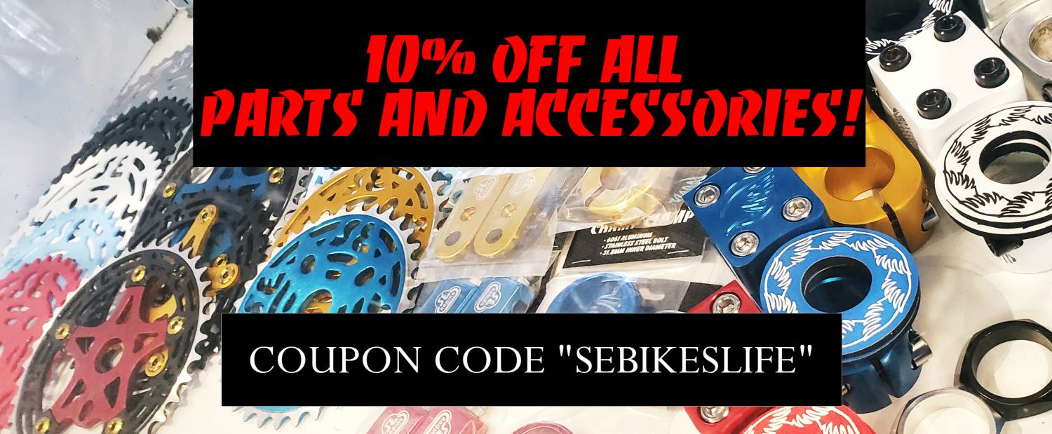 10% Off Parts and Accessories!