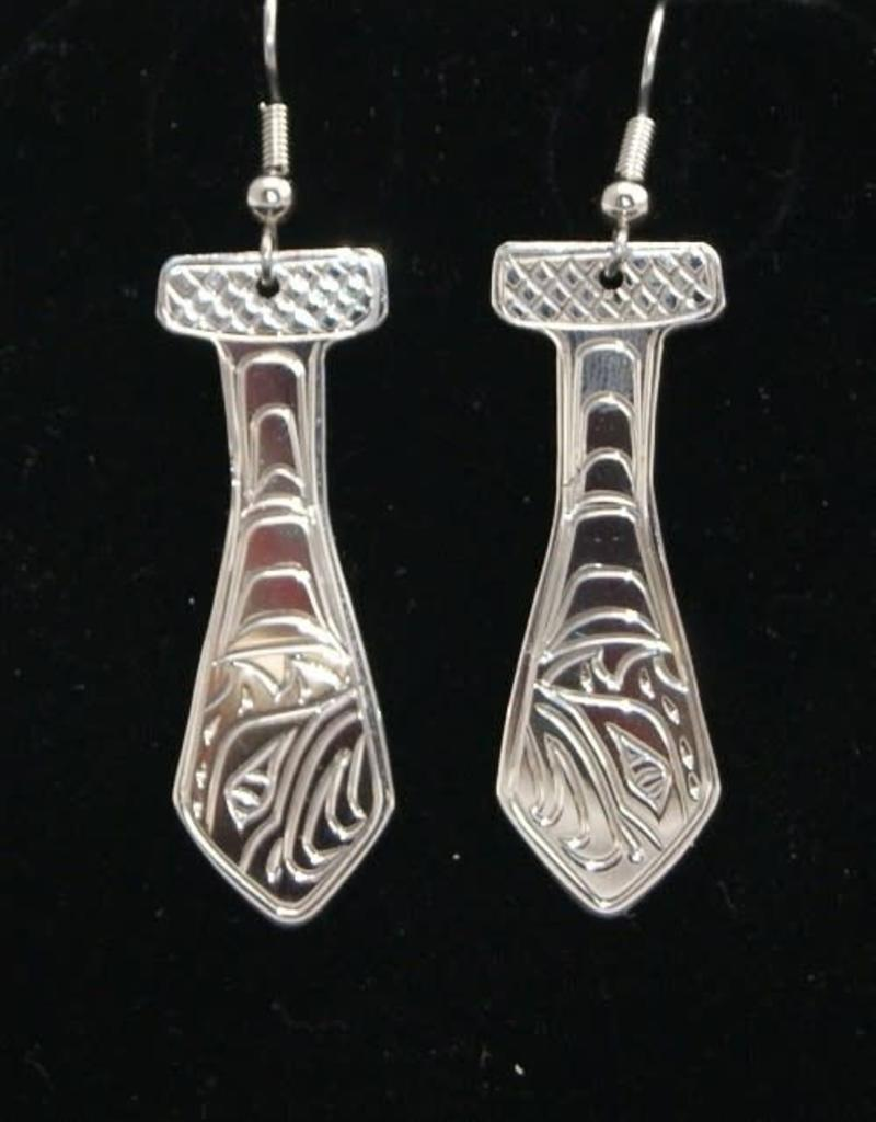 Vincent Henson Eagle Paddle earring