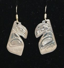 Harper Victoria Raven Earring Cut out