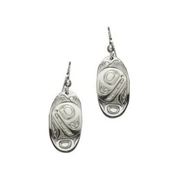 Panabo Sales Orca Oval Earrings