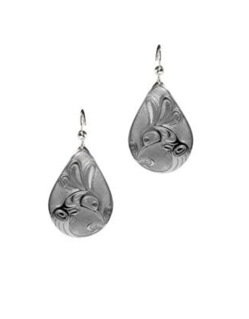 Panabo Sales Hummingbird Tear Drop Earrings