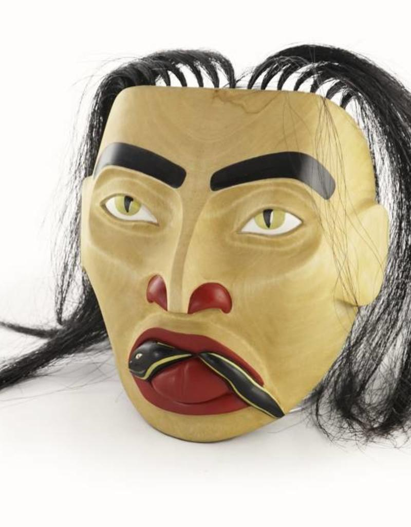Alexander, Cherrish Women of Snake Hill Mask - Alder wood