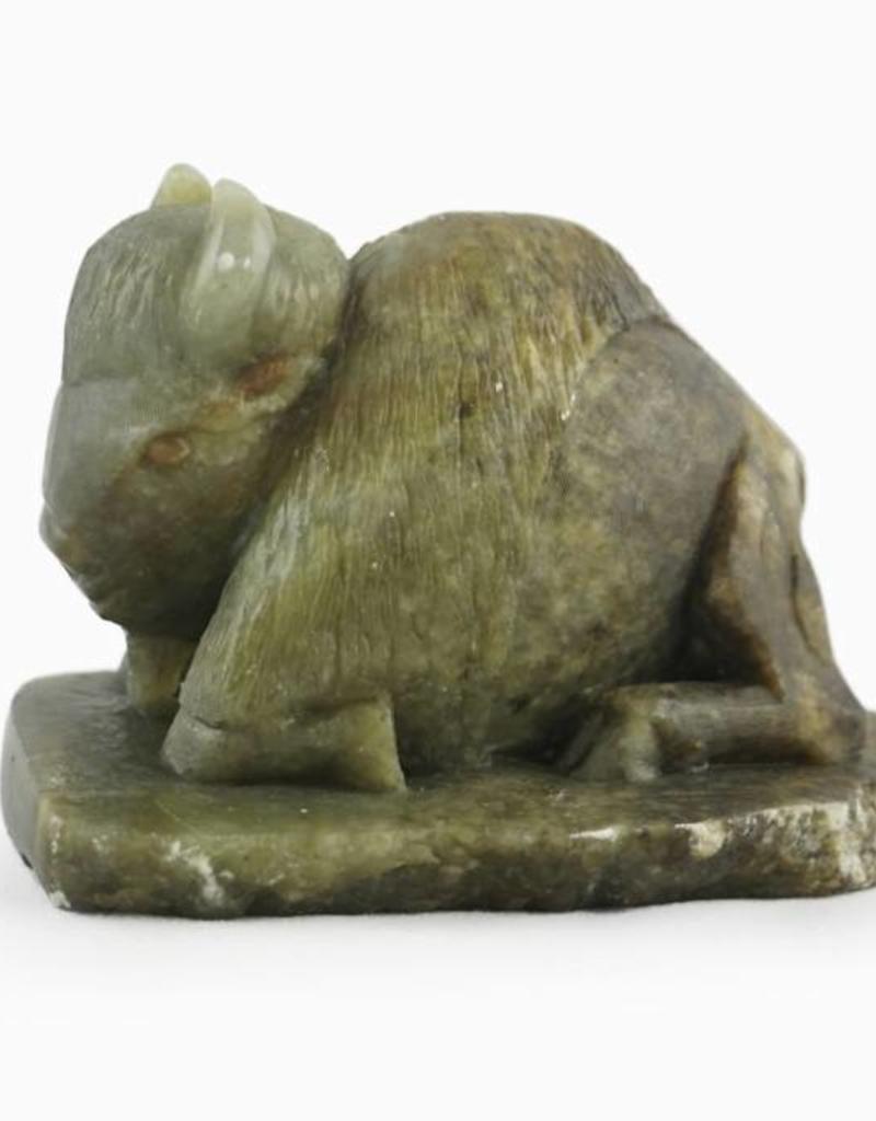 Darren Gowan Buffalo soapstone